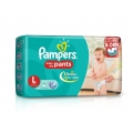Pampers Baby-Dry Pants Large For 9-14kg-36 Diapers